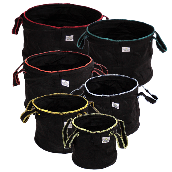 Classic Spring Pots fabric pots from 1 to 15 gallons